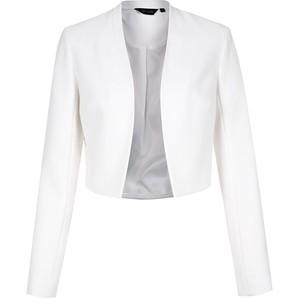 Cropped White Blazer - $39. Polyvore.com
